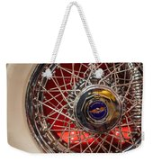 Duesenberg Wheel Weekender Tote Bag