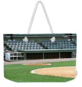 Dugout At The Old Ballpark Weekender Tote Bag
