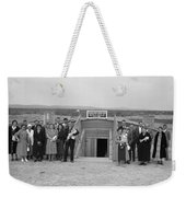 Dugout Church, 1939 Weekender Tote Bag