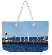 Duluth Mn Harbor Weekender Tote Bag