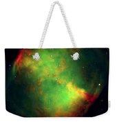 Dumbbell Nebula Weekender Tote Bag
