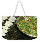 Dumpling Preparation Weekender Tote Bag