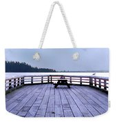 West Vancouver Dundarave Triptych Centre Panel Weekender Tote Bag
