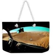 Dune Bashing In The Empty Quarter Weekender Tote Bag