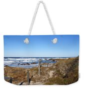 Dune Grass Weekender Tote Bag by Barbara Snyder