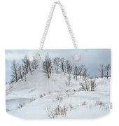 Dune Trees And Snow Weekender Tote Bag