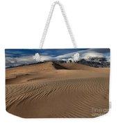 Dunes Ripples And Clouds Weekender Tote Bag