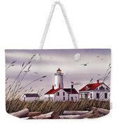 Dungeness Lighthouse Weekender Tote Bag