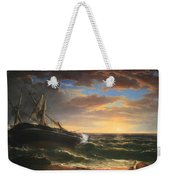 Durand's The Stranded Ship Weekender Tote Bag