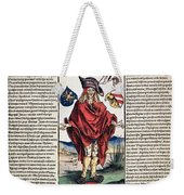 Durer: Syphilitic, 1496 Weekender Tote Bag