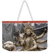 Durga In Kumartuli Weekender Tote Bag by Shaun Higson