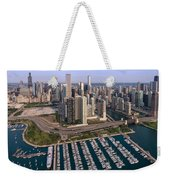 Dusable Harbor Chicago Weekender Tote Bag