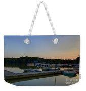 Dusk Dock 20140718 Weekender Tote Bag