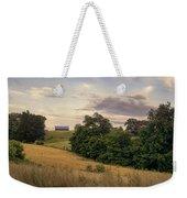 Dusk On The Farm Weekender Tote Bag