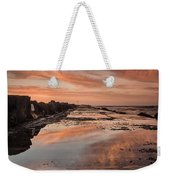 Dusk On The North Jetty Weekender Tote Bag