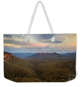 Dusk Over Mount Solitary Weekender Tote Bag