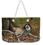 Dusky Grouse Cock Weekender Tote Bag