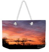 Dust Bunnies At Sundown Weekender Tote Bag
