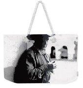 Dustin Farnum On  Set Of Light Of The Western Stars  Las Moros Ranch Southern Arizona 1918-2013  Weekender Tote Bag