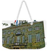 Dutch Architecture Of The Golden Age For Town Hall In Enkhuizen- Weekender Tote Bag