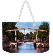 Dutch Bridge Weekender Tote Bag
