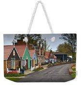 Dutch Shops On Windmill Island In Holland Michigan Weekender Tote Bag