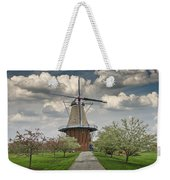 Dutch Windmill The Dezwaan On Windmill Island In Holland Michigan Weekender Tote Bag