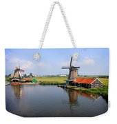 Dutch Windmills Weekender Tote Bag