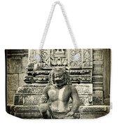 Dvarapala At Banteay Srey Weekender Tote Bag