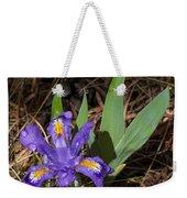 Dwarf Lake Iris Weekender Tote Bag