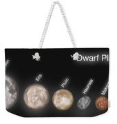 Dwarf Planets, Illustration Weekender Tote Bag
