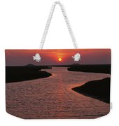Dwelling Mounds In The Wadden Sea Weekender Tote Bag