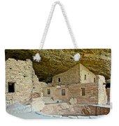 Dwellings In Spruce Tree House On Chapin Mesa In Mesa Verde National Park-colorado  Weekender Tote Bag