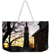 Dwight Windmill At Sunset Weekender Tote Bag
