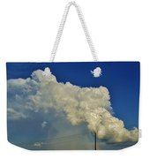 Dying Texas Supercell Weekender Tote Bag
