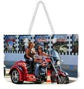 Dykes On Trikes  Weekender Tote Bag
