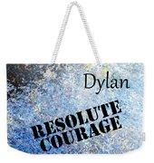 Dylan - Resolute Courage Weekender Tote Bag