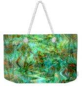 Dynamic Abstract Art Weekender Tote Bag