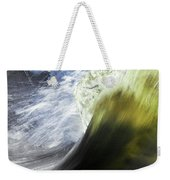 Dynamic River Wave Weekender Tote Bag