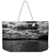 Dynamic Storm Over The Marsh Weekender Tote Bag
