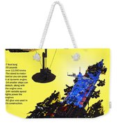 Dynonochus Flyer Back Weekender Tote Bag