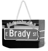 E Brady St Weekender Tote Bag