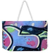 E Is For Equality Weekender Tote Bag by Donna Blackhall
