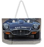 E Type Jaguar V12 Weekender Tote Bag