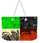 E Vincent Quad Colors Weekender Tote Bag