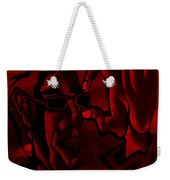 E Vincent Red Weekender Tote Bag
