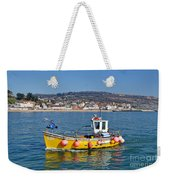 E201 Coming Into Harbour Weekender Tote Bag