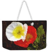 Eager Poppies Weekender Tote Bag