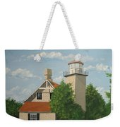 Eagle Bluff Lighthouse Wisconsin Weekender Tote Bag