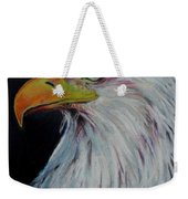 Eagle Eye Weekender Tote Bag by Jeanne Fischer